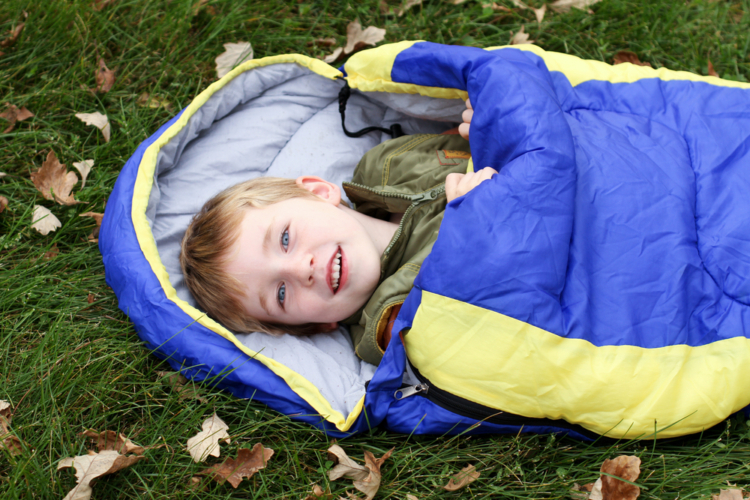 いざという時に役に立つ寝袋