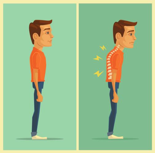 背筋を真っ直ぐに伸ばし、見栄えのする姿勢になるように意識をしてみましょう。