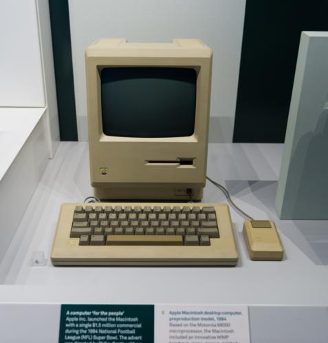アップル・コンピュータ社がマイクロソフト社をGUIについて提訴したこともありました