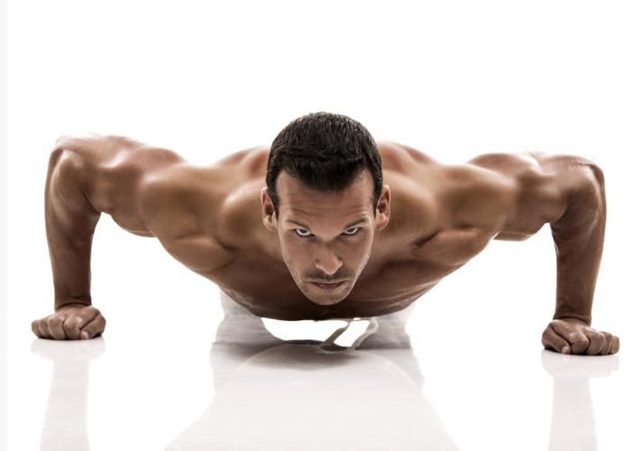大胸筋を手っ取り早く鍛えられる方法が「腕立て伏せ」です