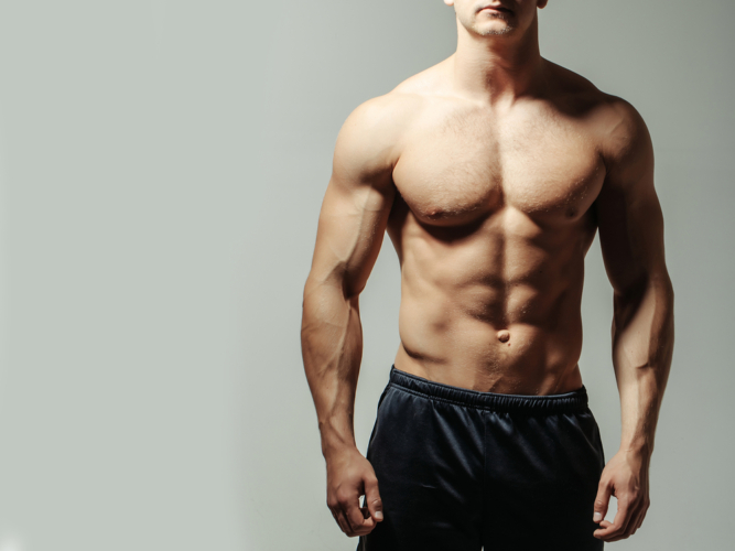 筋肉は見た目も実用性もバランスが大切です