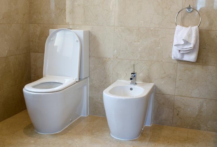 欧州、米国のトイレでは便器の横にある手洗い場のような台に注目!