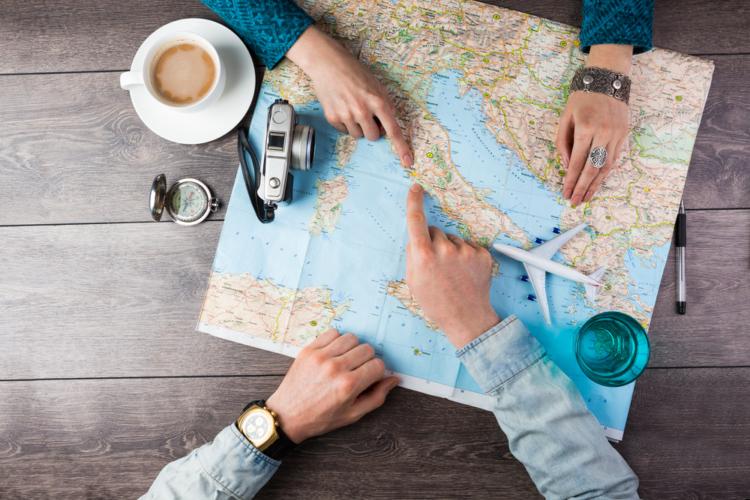 仲良し夫婦の趣味は旅行