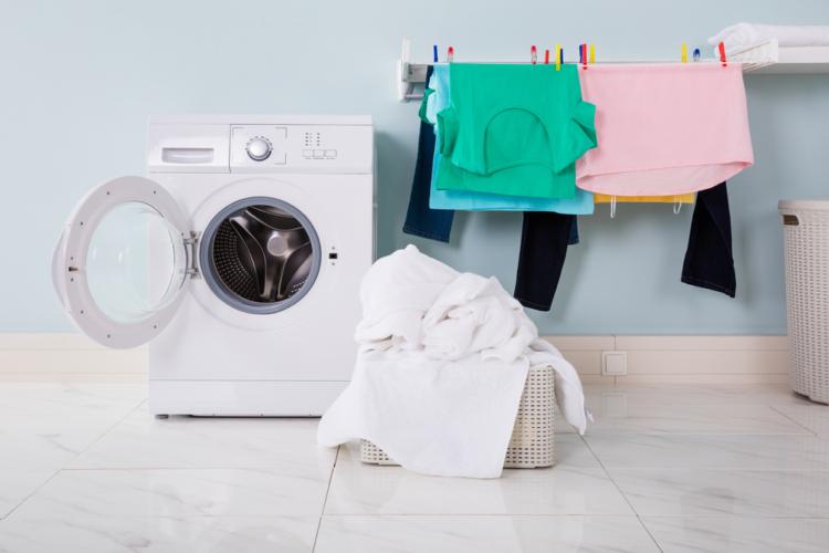 普段から洗濯をしておくことも大切です