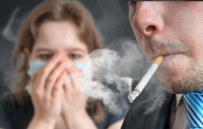 喫煙も肌トラブルと老化の原因になる
