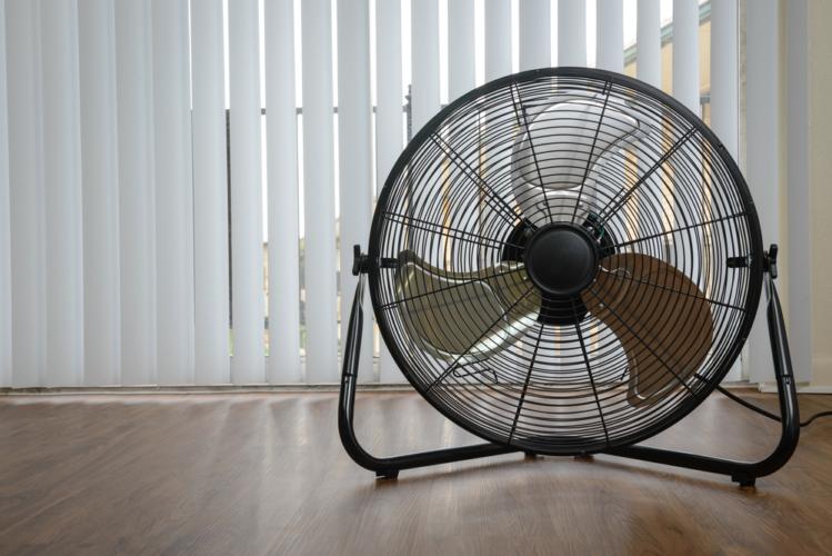 掃除にも扇風機は使えます。