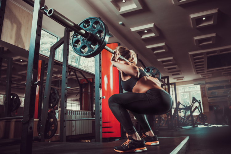 スクワットの重量設定と注意点