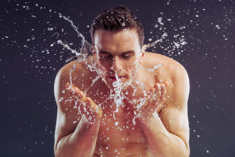 洗顔は男の身だしなみ