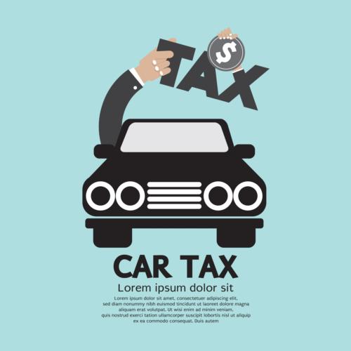 自動車税の納付を忘れずに支払いましょう。
