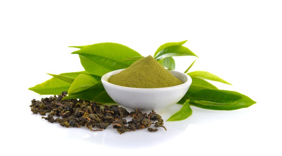 自分で作る粉末緑茶