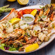 肉より扱いやすい海の幸でダイエット