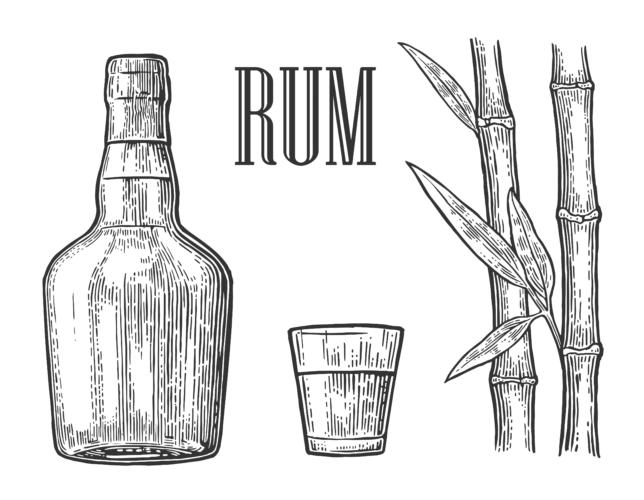 荒くれ者の酒、ダーク・ラム