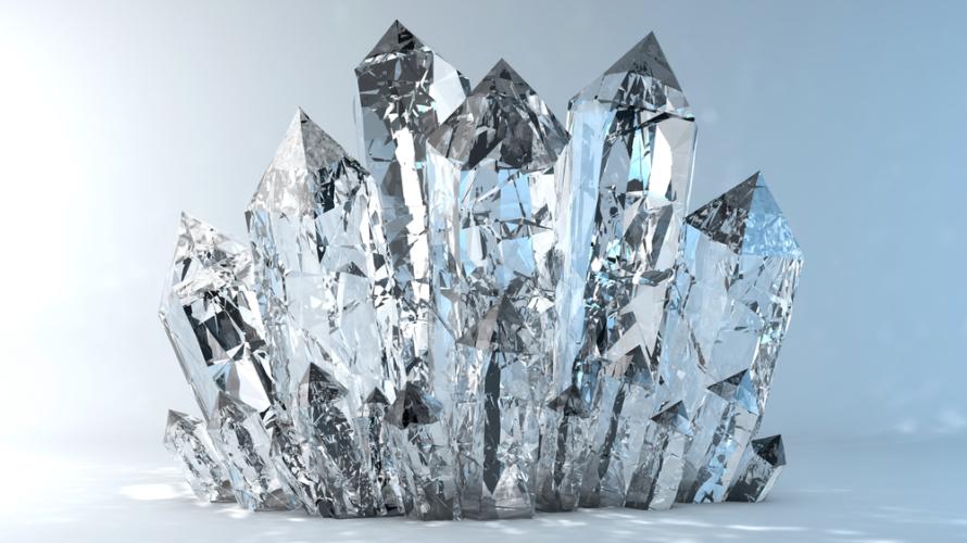 生命力を活性化してくれる「水晶」は特におすすめです。