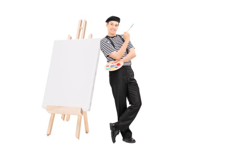 1から作品を作り上げる喜びを実感することができるイラスト