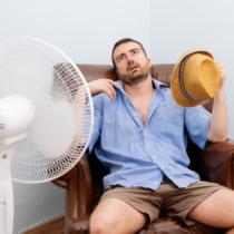 熱中症は室内にいても起こるのです。