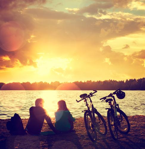 若い女性とデートするときにはサイクリングデートもあり