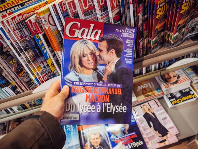 雑誌はコンビニの必須アイテムです