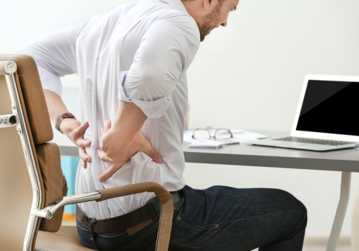 最近の腰痛の主な原因