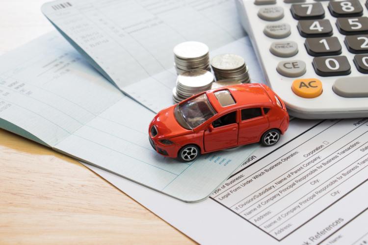 車両保険の使用による等級の下がり方