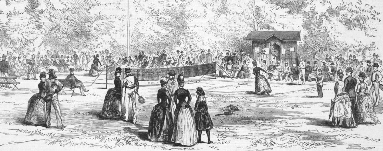 テニスの聖地と呼ばれる「ウィンブルドン選手権」について紹介します。