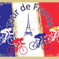 三大ロードレース「グランツール」のひとつ、ツールドフランスが始まっています