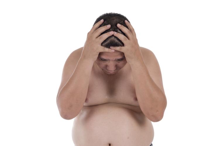 男性が肥満の場合