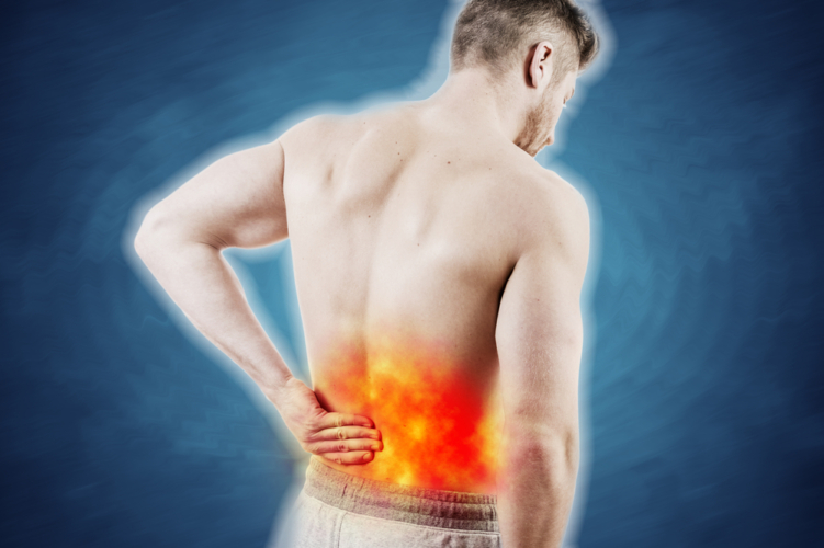 辛い慢性腰痛