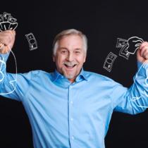 退職金の使い道をひとりで考える男