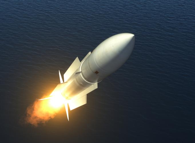 現代の軍艦はミサイルが当たったら沈む前提