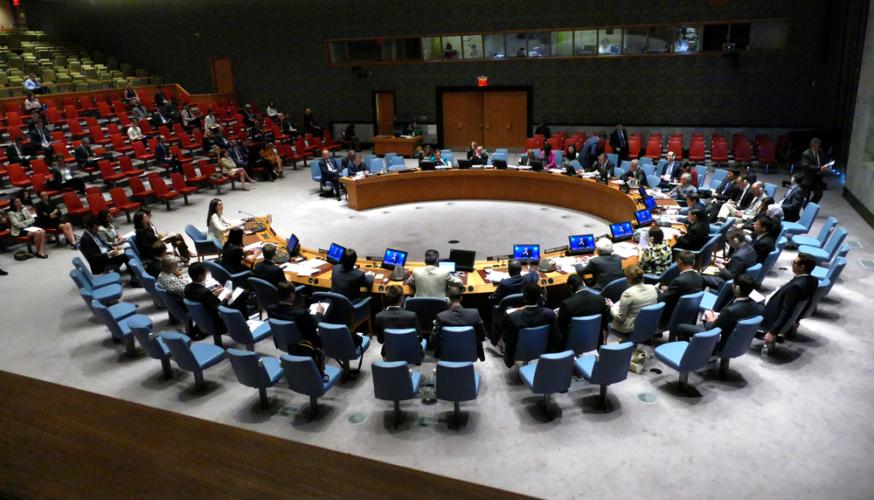 あくまでも戦後を見据えた連合国(の集まり)であるUnited Nationsは、理念的な世界平和を希求する機関ではありません