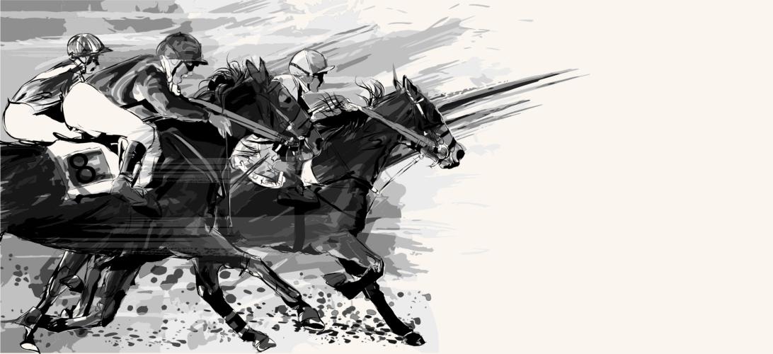 モレイラの騎乗ぶり