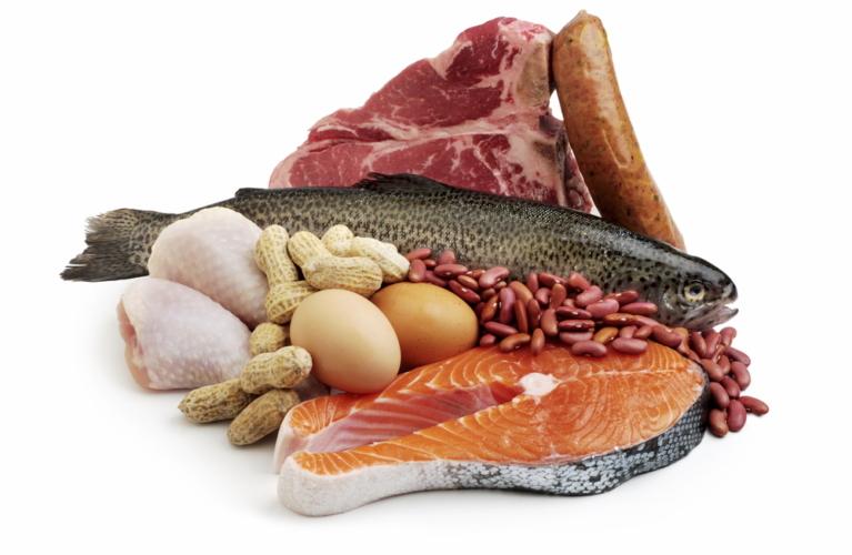 髪はタンパク質。肉や魚は積極的に摂取しましょう