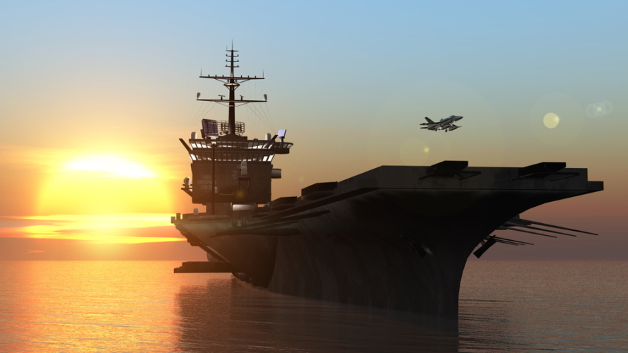 空母とは艦載機を作戦機として運用する攻撃兵器