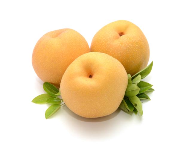 梨は丸ごと一個食べても全然OK