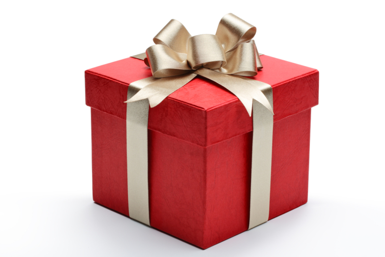 プレゼントに気をつける