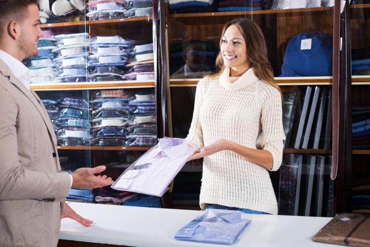 提案された服の質を確認する