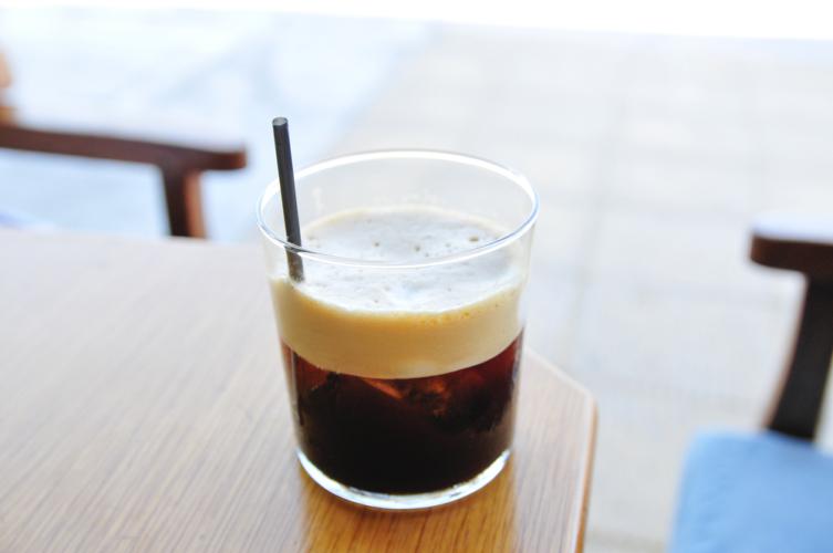 水出しコーヒーのソーダ割り