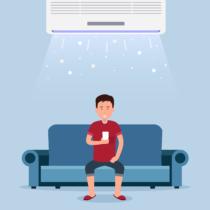 夏は冷房の効きすぎに注意