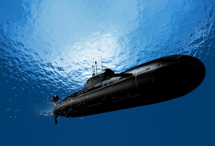 日本の海上自衛隊の潜水艦