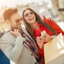 デートと重なる彼女の買い物