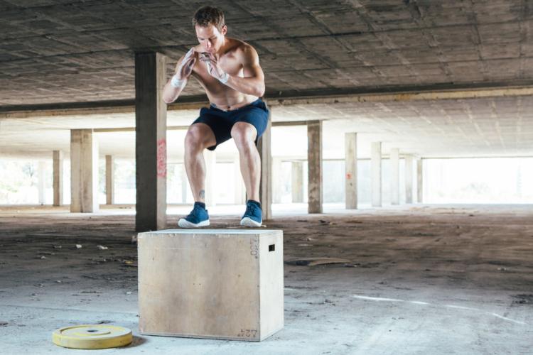 サーキット④瞬発力と大胸筋への刺激