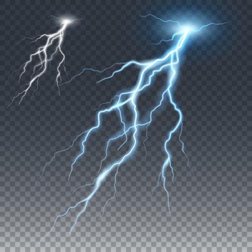 雷にうたれる確率 1000万分の1