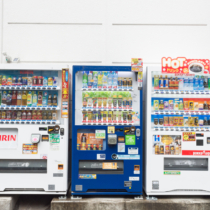日本にはドリンク以外にもさまざまな自動販売機が設置されています