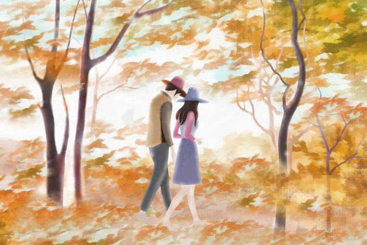 秋といえば行楽地