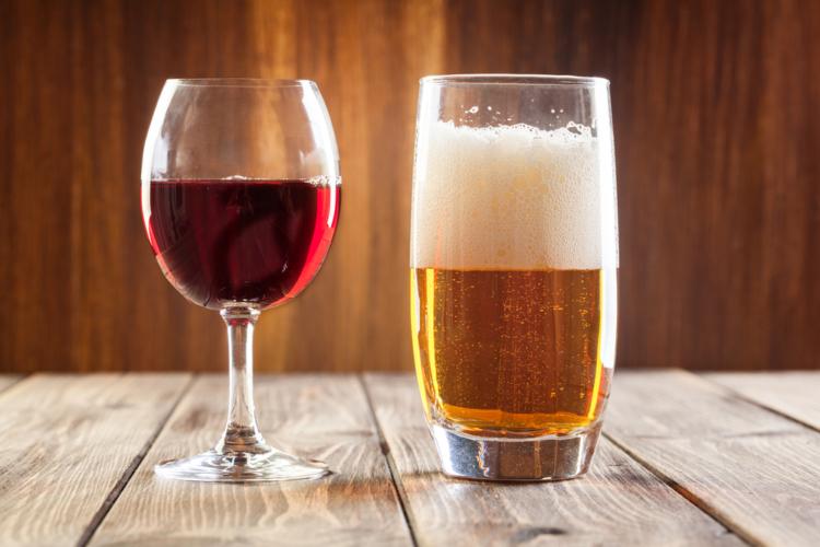 アルコール類、特にビール