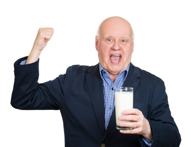 老化も防ぐ乳清たんぱく