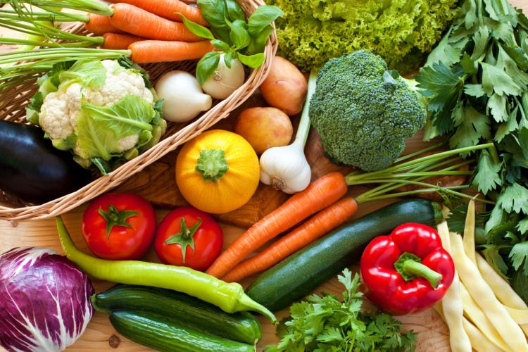 野菜を食べない男性が多い
