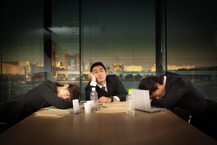 睡魔に対抗するエネルギーは無駄遣い