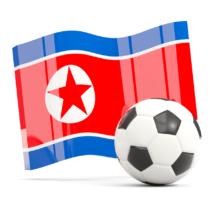サッカーの東アジア選手権大会では北朝鮮チームが来日