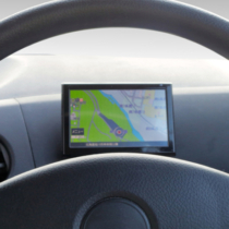 Car navigation system fitted.